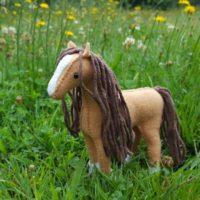 horse stuffed animal sewing kit