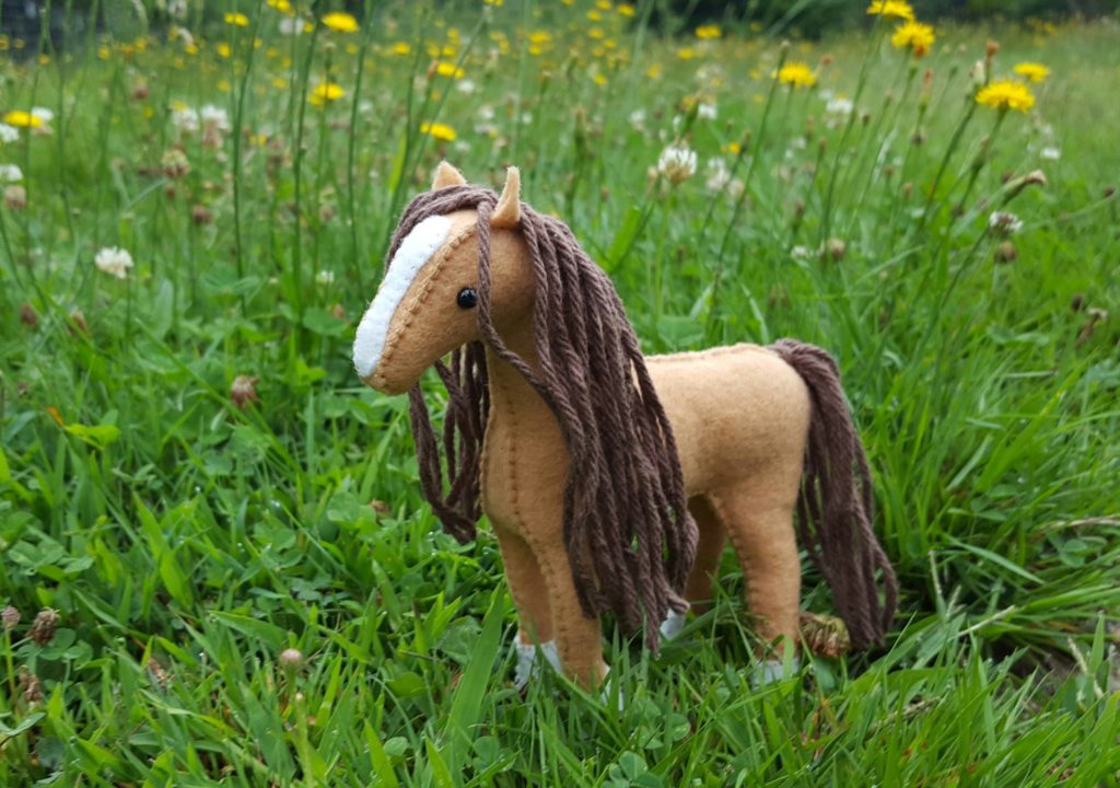 Stuffed Horse Sewing Kit