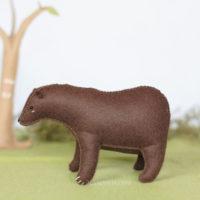 felt bear sewing kit