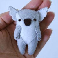 Koala Felty Ornament