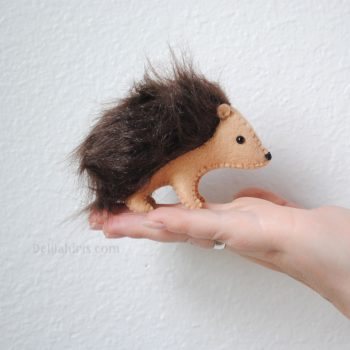 hedgehog sewing pattern