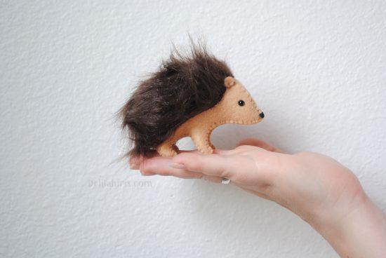 hedgehog sewing pattern