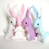 bunny craft sewing kit