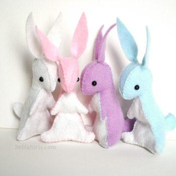 felt bunny pattern