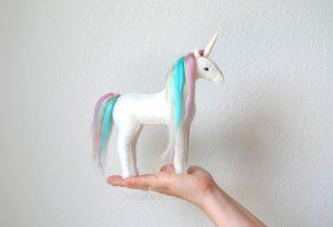 pastel rainbown unicorn kit