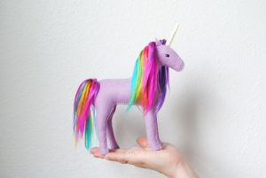 purple rainbow unicorn kit