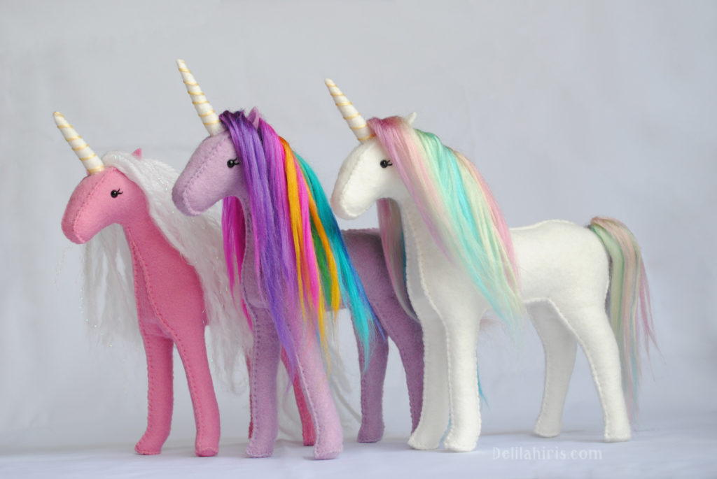 stuffed unicorn kits