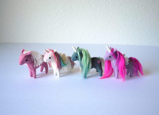 Tiny stuffed Unicorn Pattern