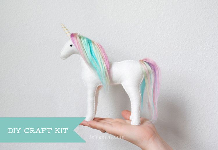 stuffed unicorn kit