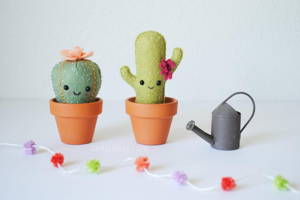cactus plush pattern