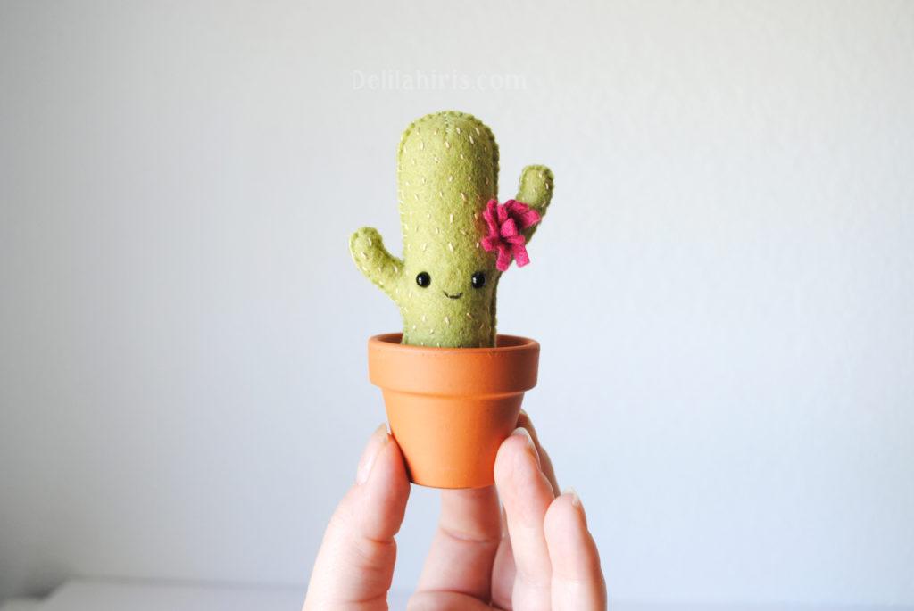 cactus sewing pattern