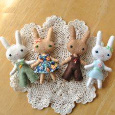 Mini Bunny Doll