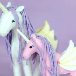 Horse Unicorn stuffed animal patterns