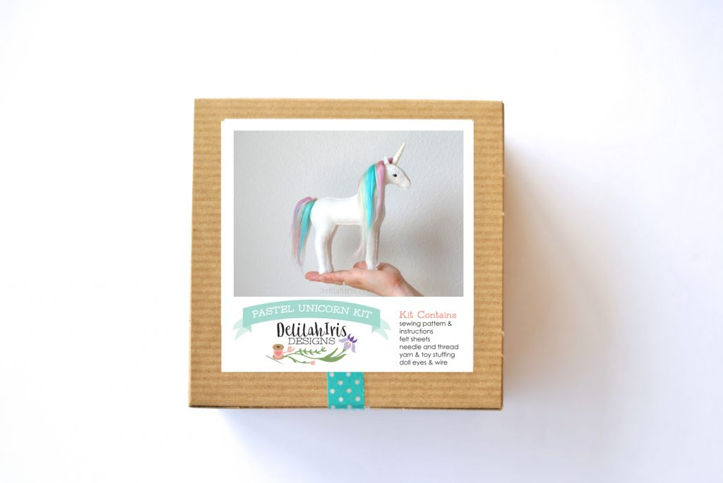 rainbow unicorn craft kit