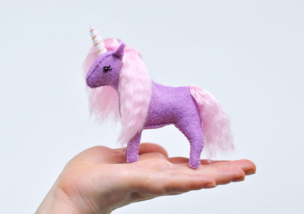 purple pink unicorn kit