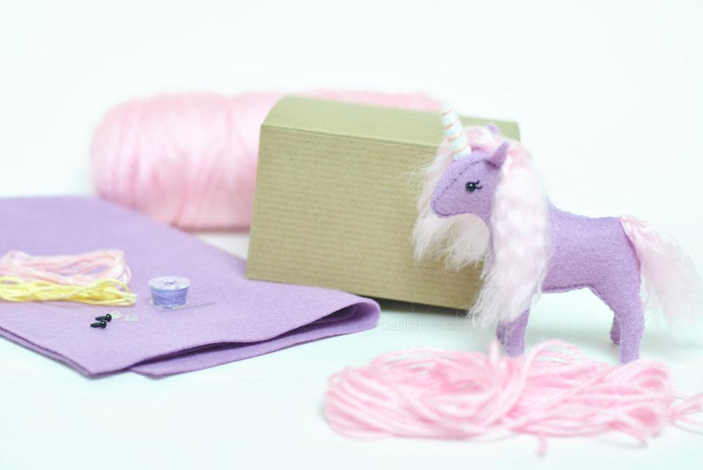 purple unicorn kit