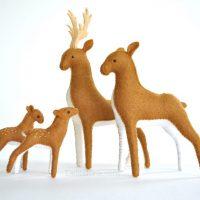stuffed deer pattern