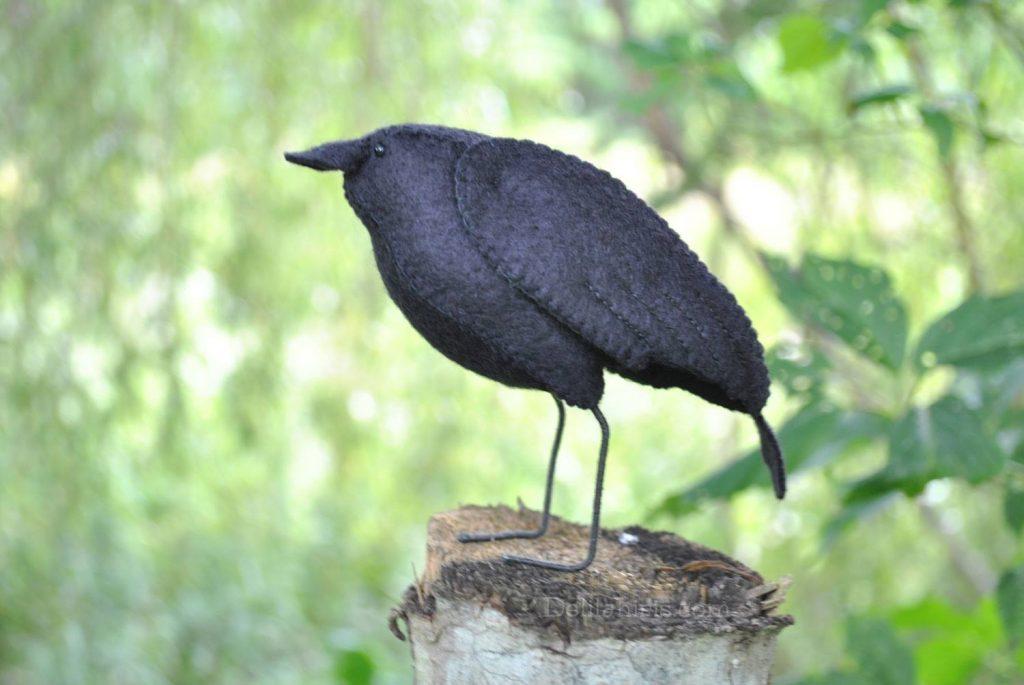 raven bird sewing pattern
