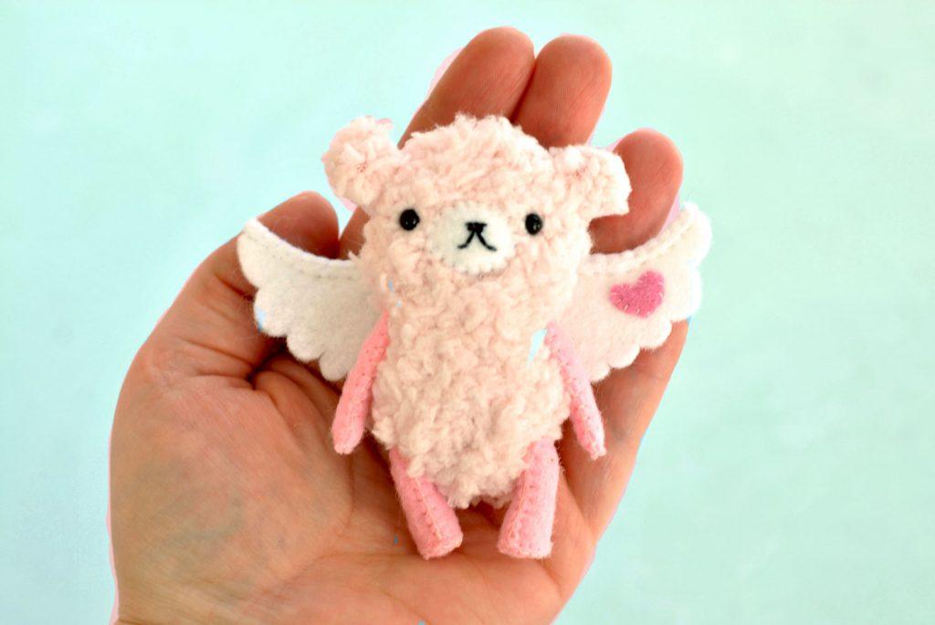 cupid valentines teddy bears