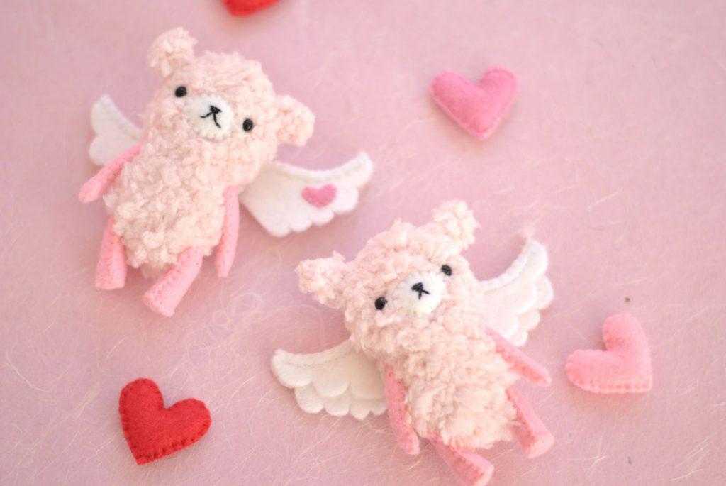 Valentines day teddy bear patterns