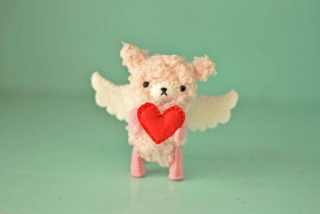 valentines teddy bear pattern