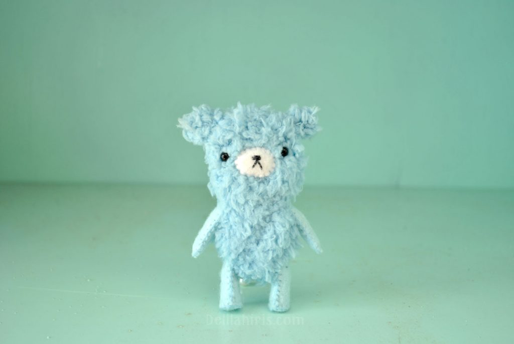 miniature teddy bear pattern