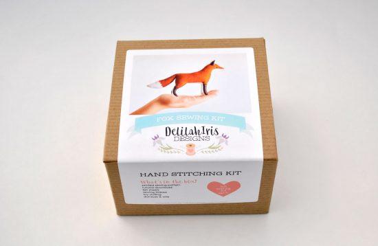 stuffed fox craft kit