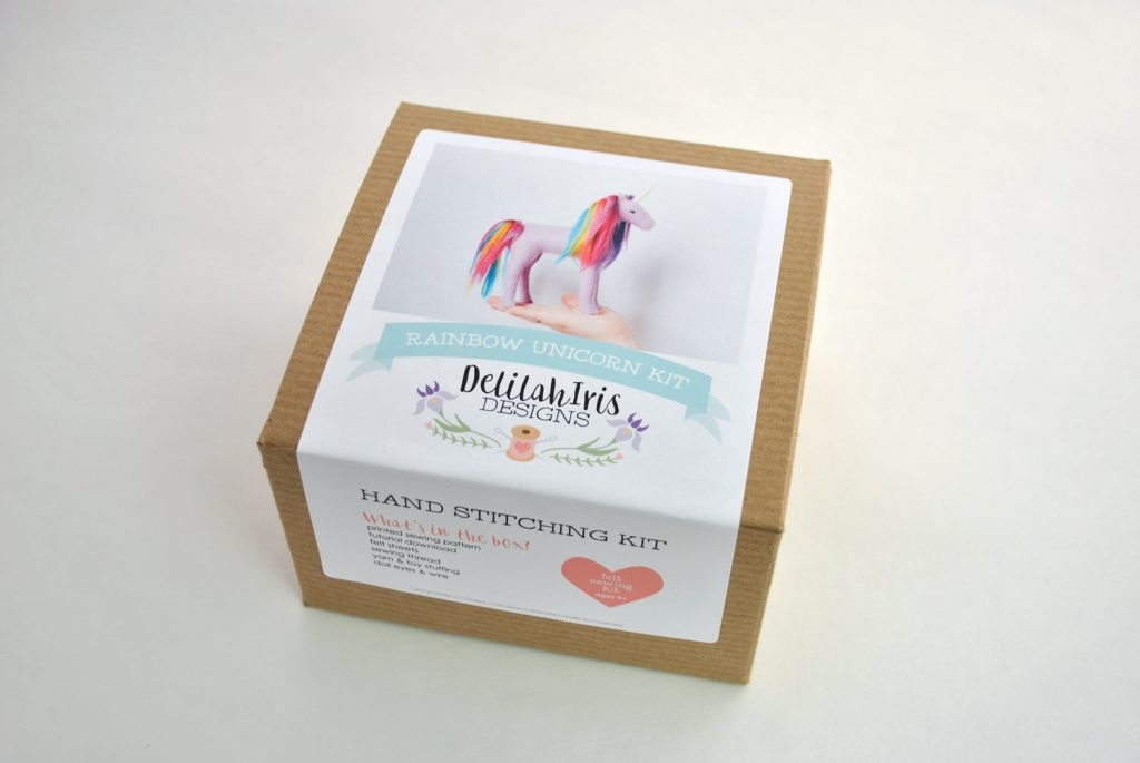 stuffed unicorn diy kit