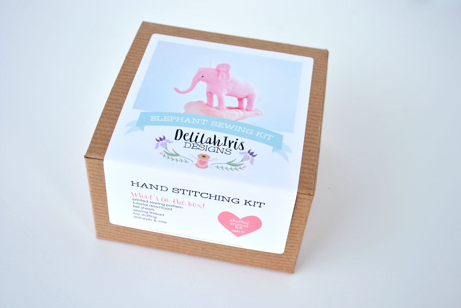 DIY Craft Kit Pink Elephant