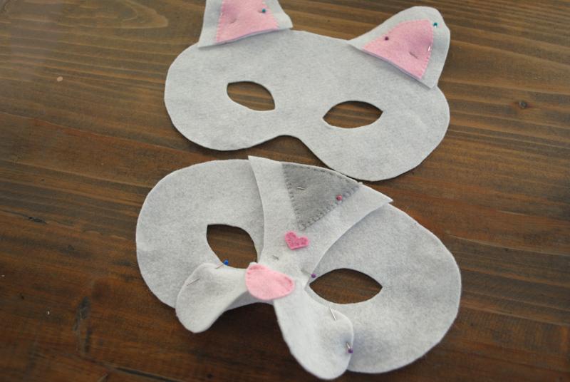 DIY Halloween mask sewing tutorial