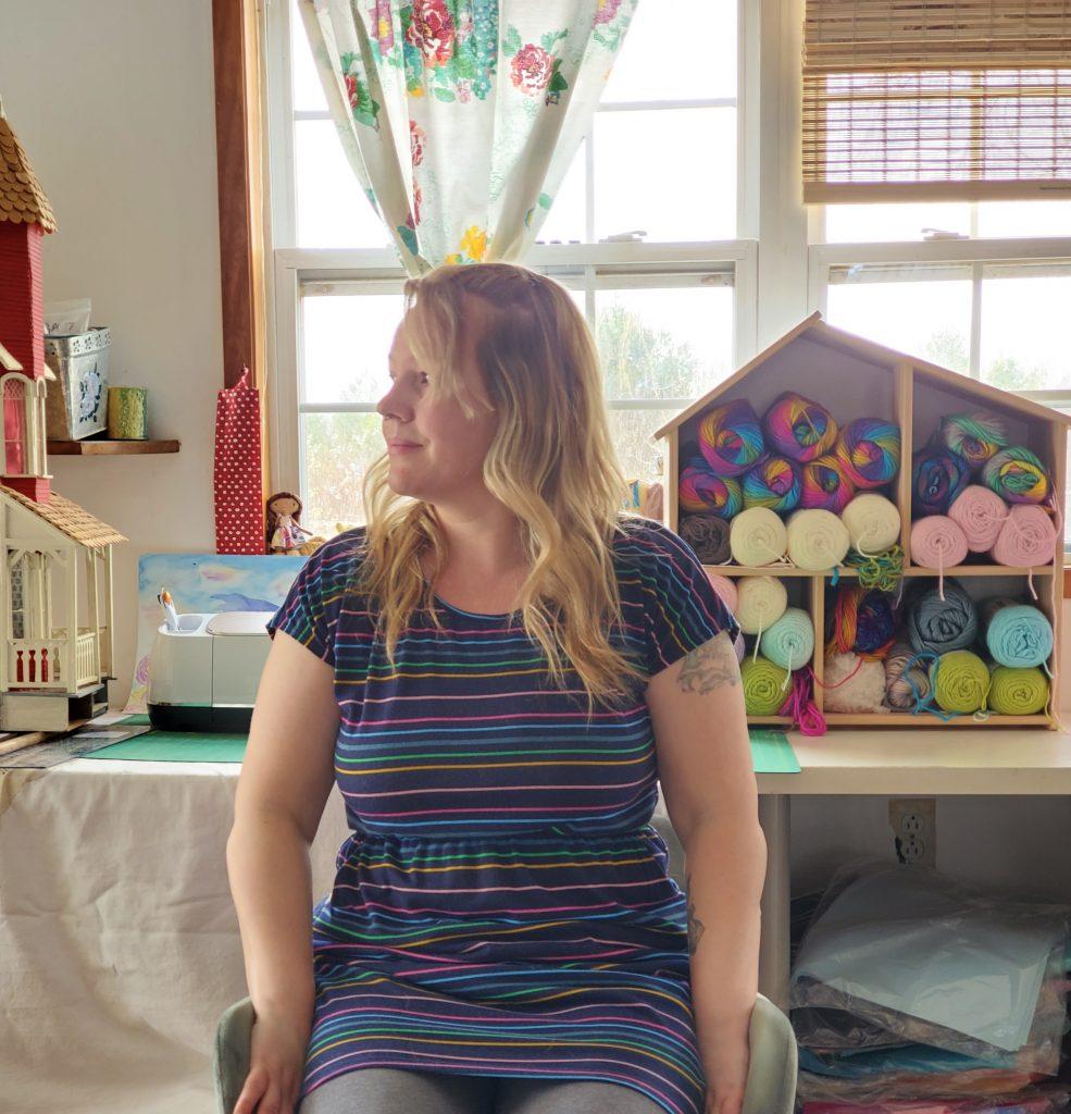 felt artist and designer Delilah Iris