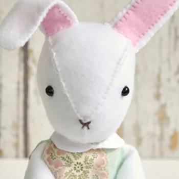 free bunny doll pattern
