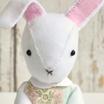 free bunny doll pattern