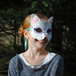 felt cat mask