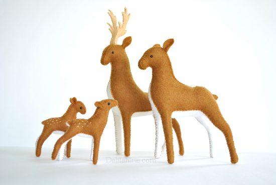 deer sewing pattern