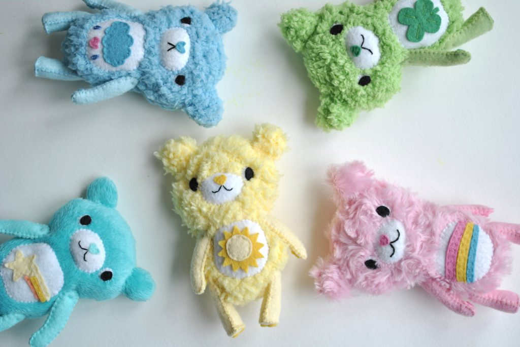 diy care bears plush
