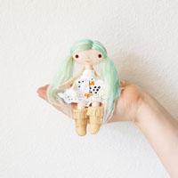 dollhouse doll pattern