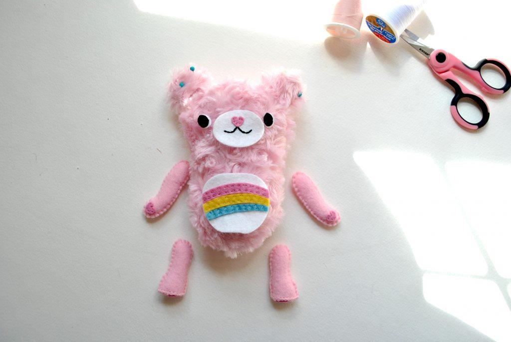diy care bear plush tutorial cheer bear