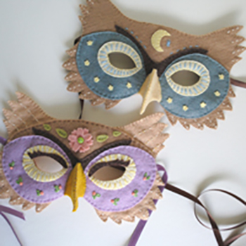 DIY Halloween Felt Mask