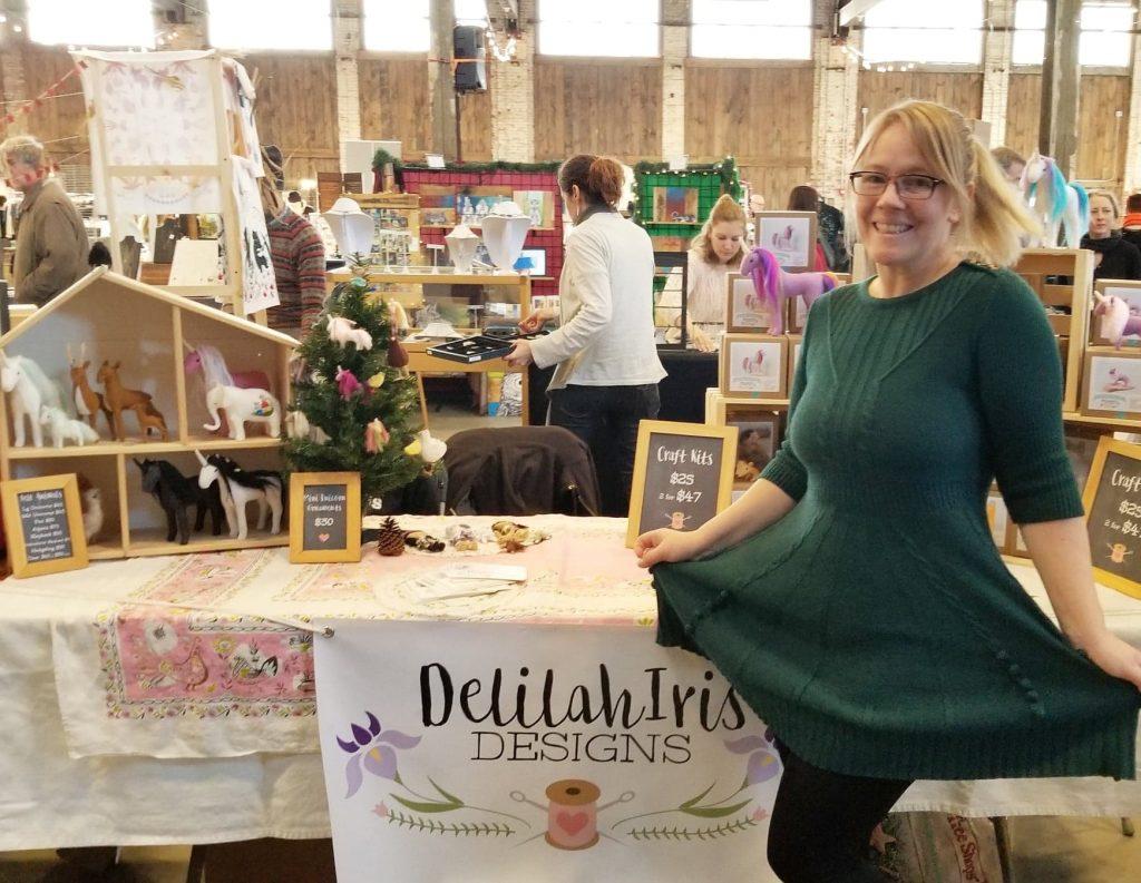 delilahiris felt artist and crafts designer