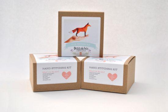 diy felt fox kit