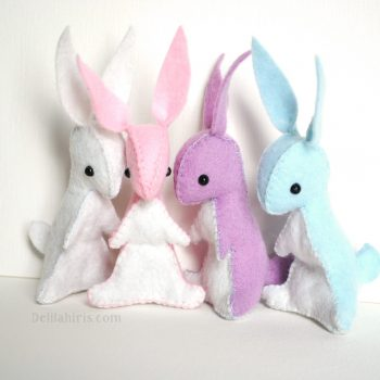 felt bunny craft kits