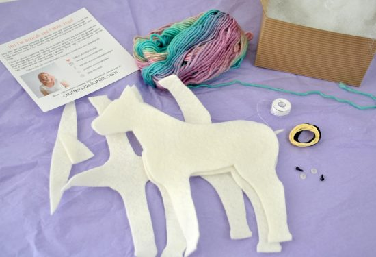DIY Unicorn Felt Craft Kit