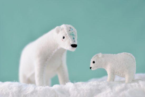 polar bear sewing pattern