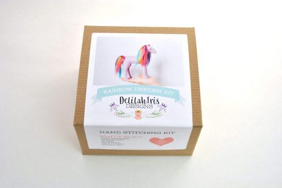 diy unicorn craft sewing kit
