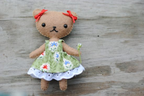 teddy bear doll pattern tutorial