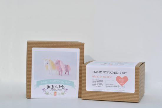 diy unicorn sewing kit