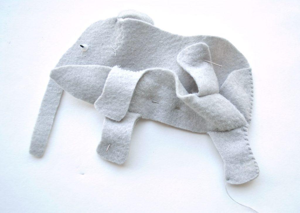 felt animal sewing tutorial