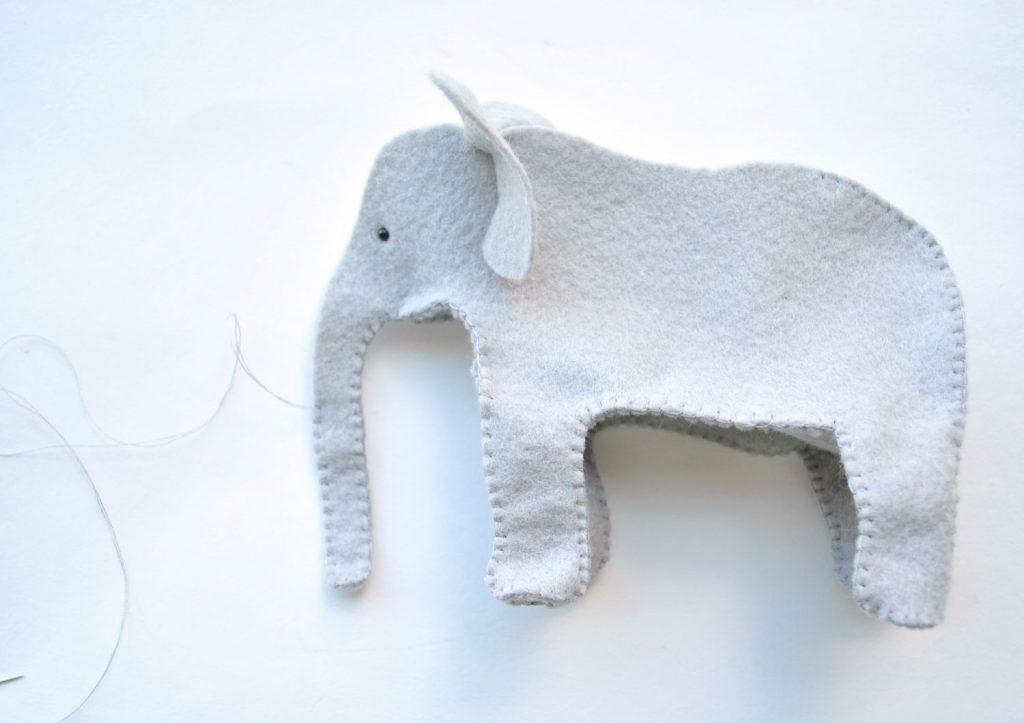 How to sew felt animals