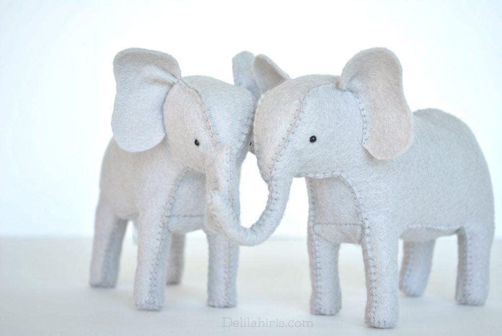 Felt Elephant DIY Tutorial